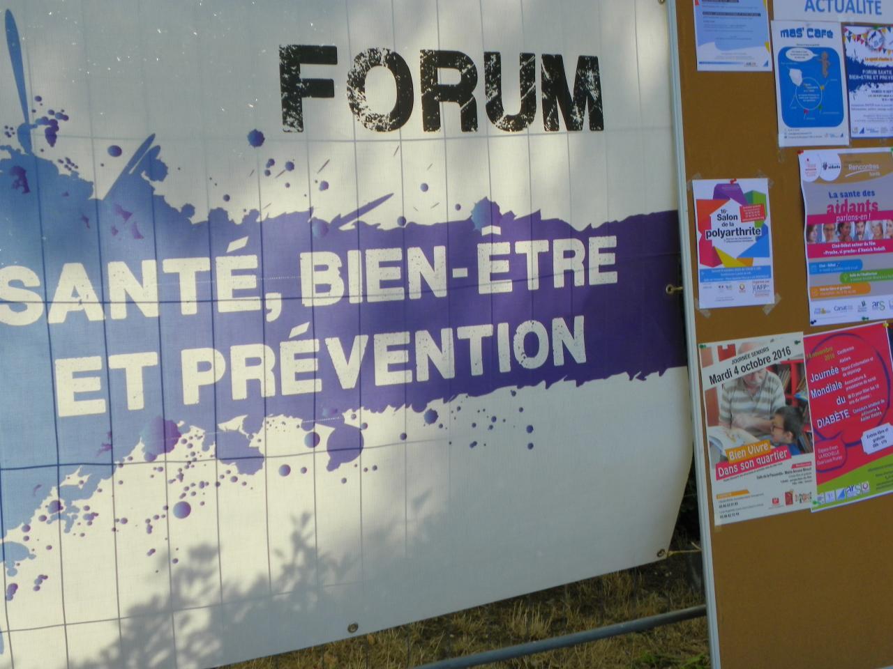 Forum santé Septembre 2016